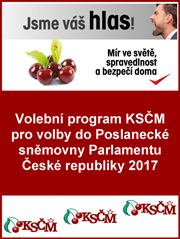 Obálka program KSČM